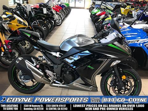 2015 Kawasaki Ninja® 300 SE in Banning, California