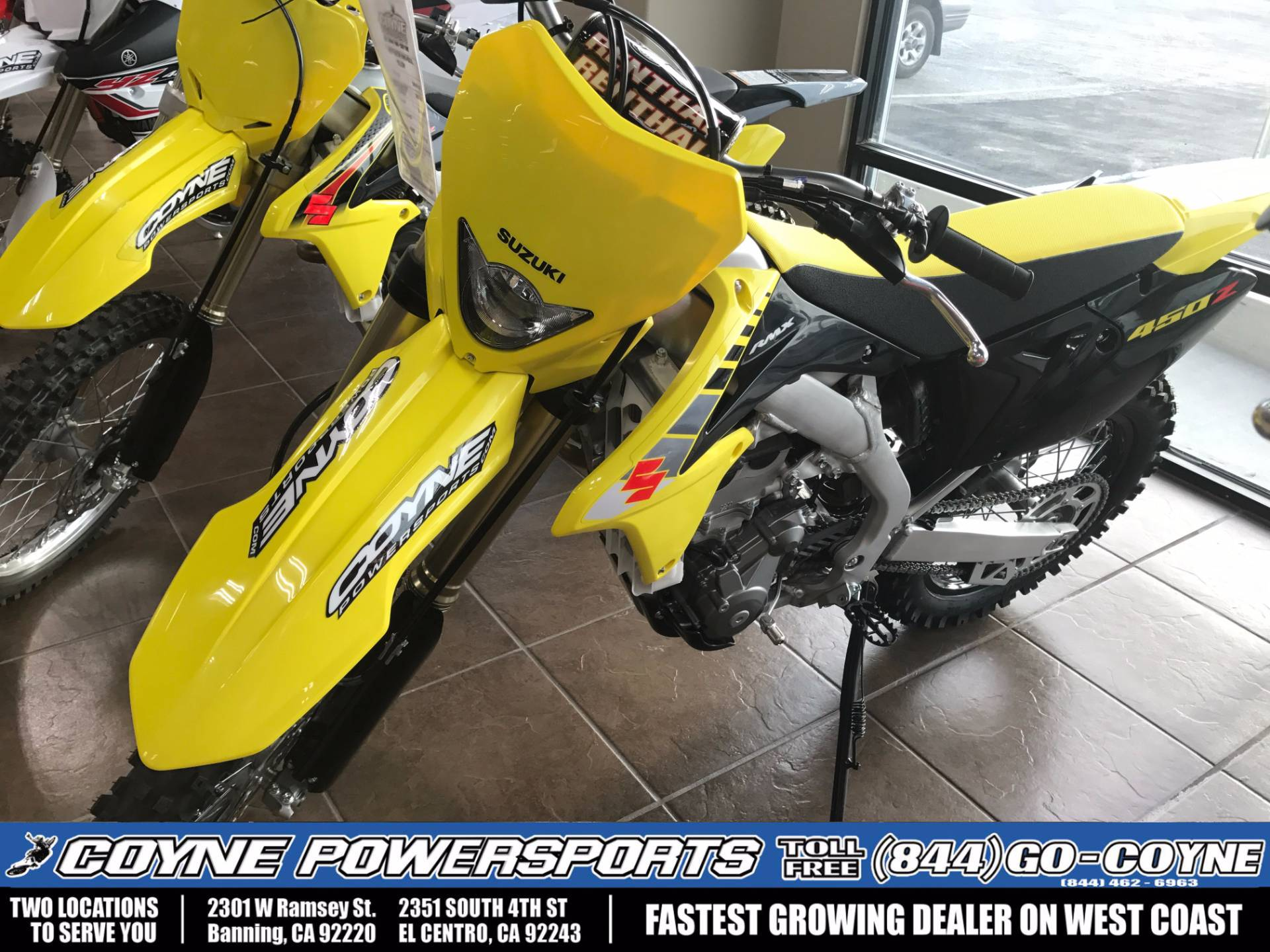 2017 Suzuki RMX450Z in Banning, California