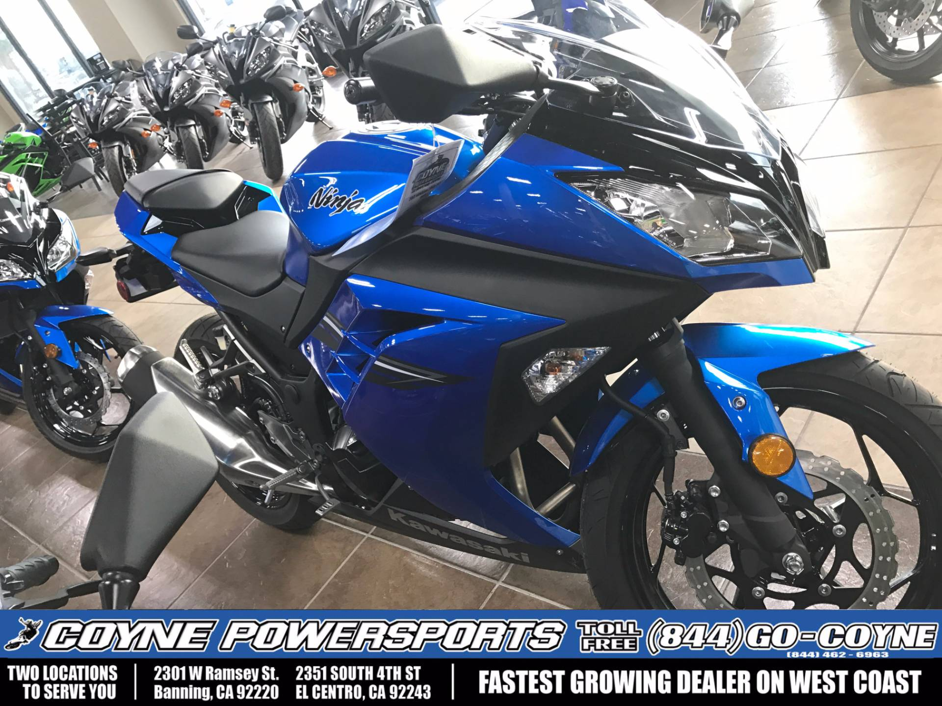 2017 Kawasaki Ninja300 for sale 966