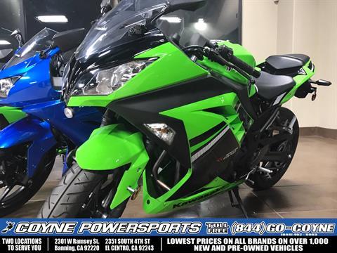 2014 Kawasaki Ninja® 300 SE in Banning, California