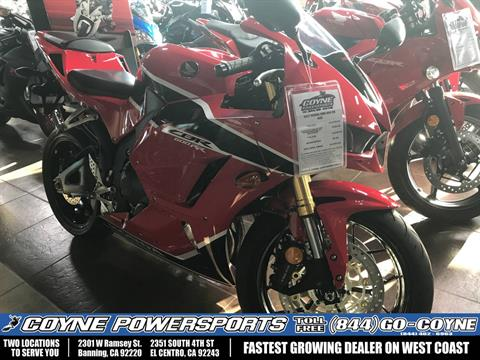 2017 Honda CBR600RR in Banning, California