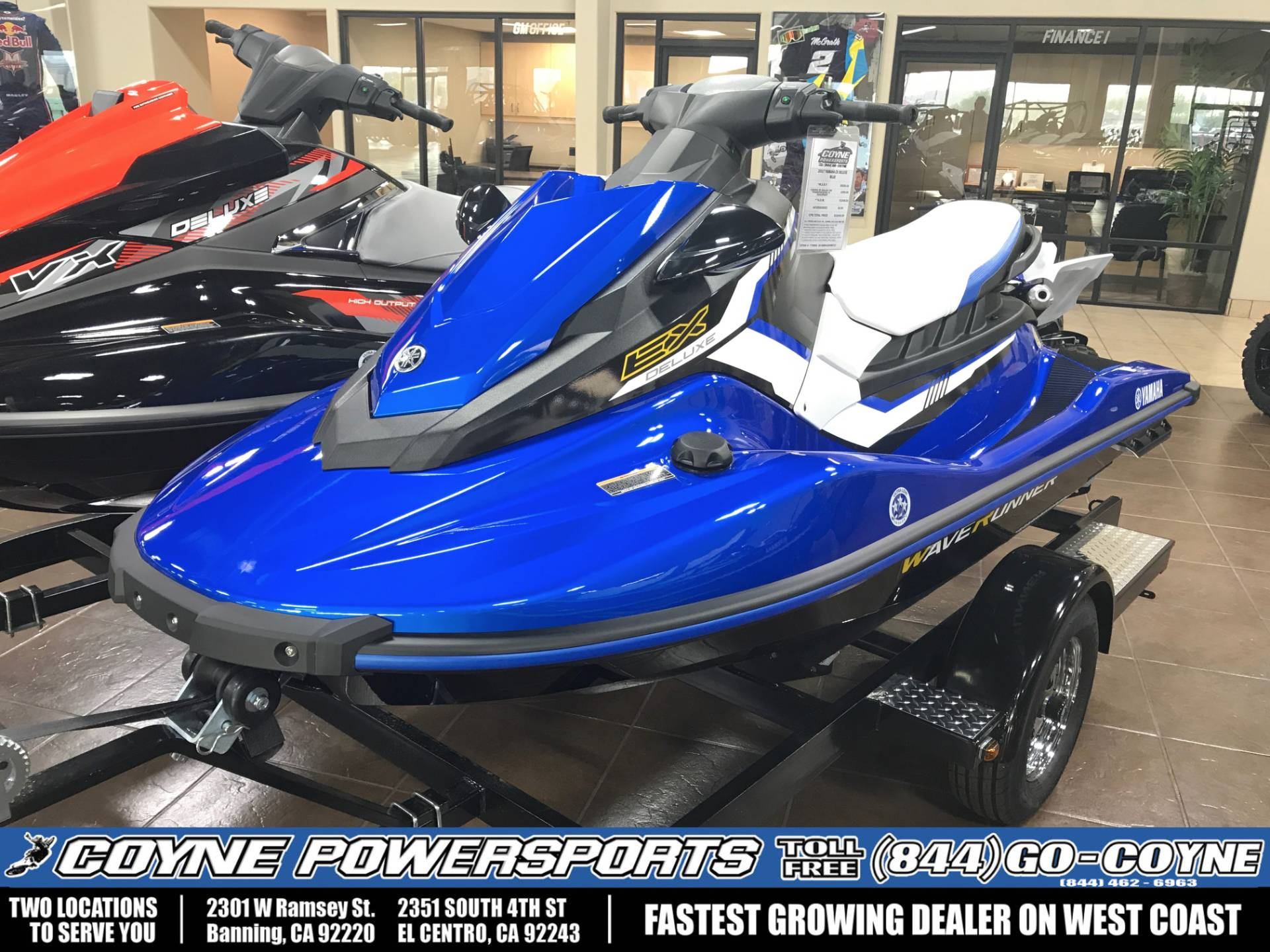 2017 Yamaha EX Deluxe for sale 16223