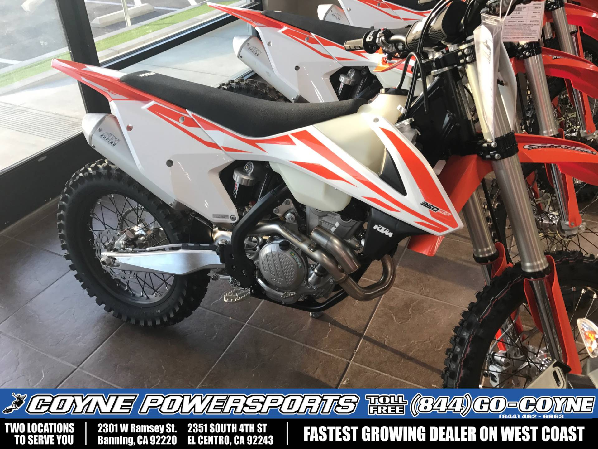 2017 KTM 350 XC-F in Banning, California