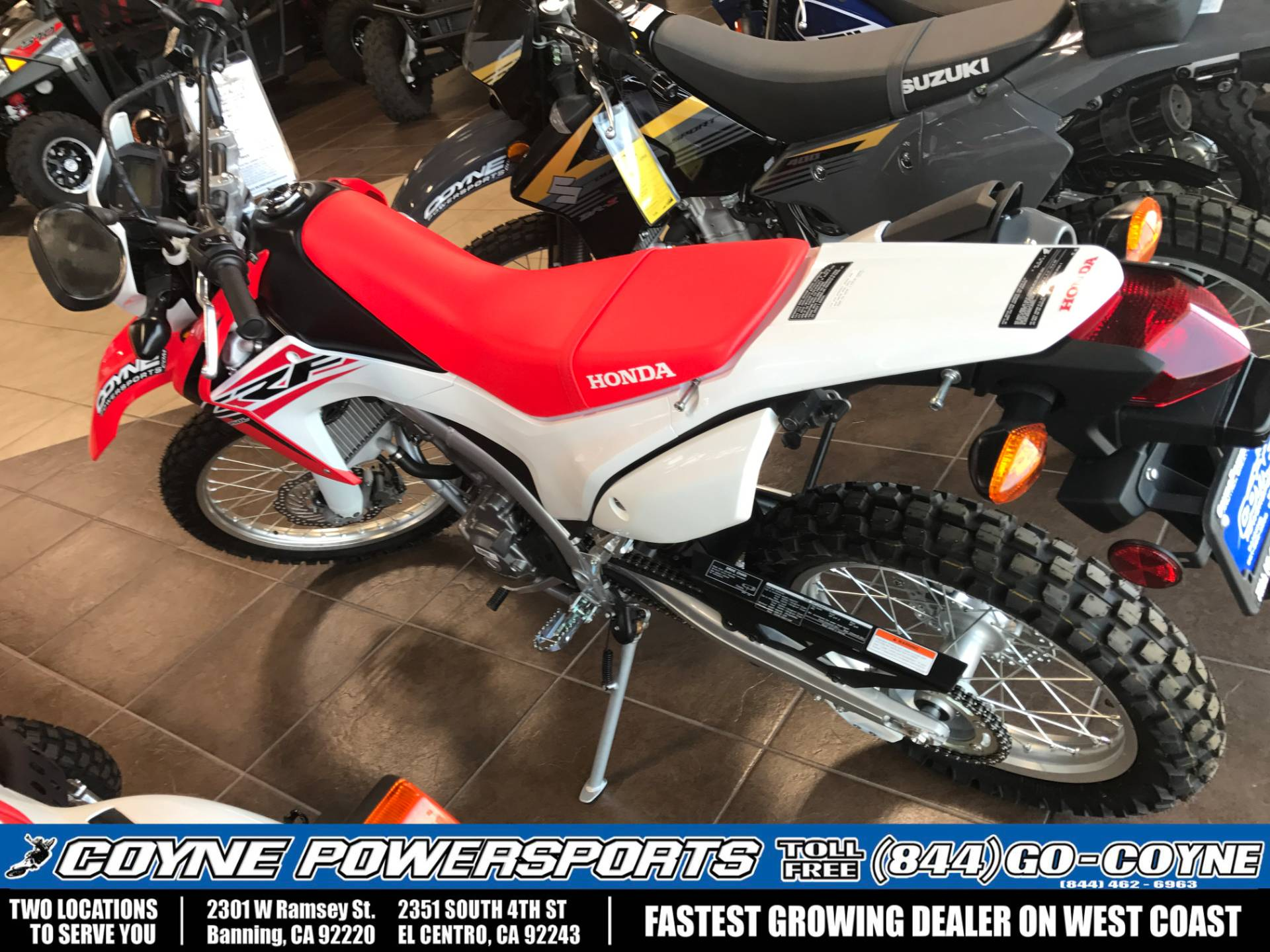 2016 Honda CRF250L in Banning, California