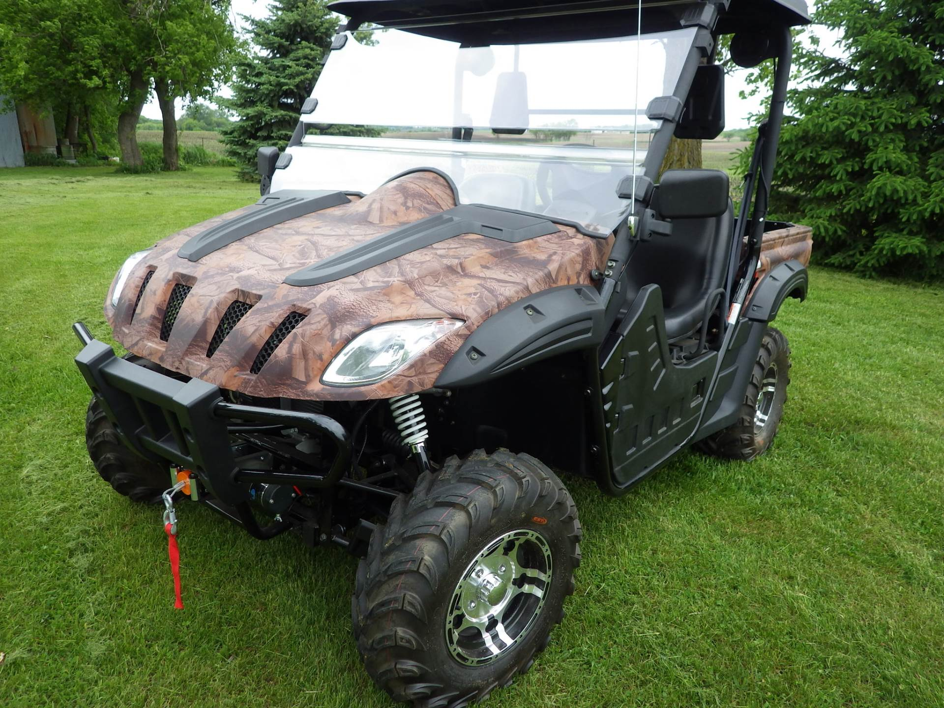 2016 BMS Ranch Pony 600 EFI in Howard Lake, Minnesota - Photo 9