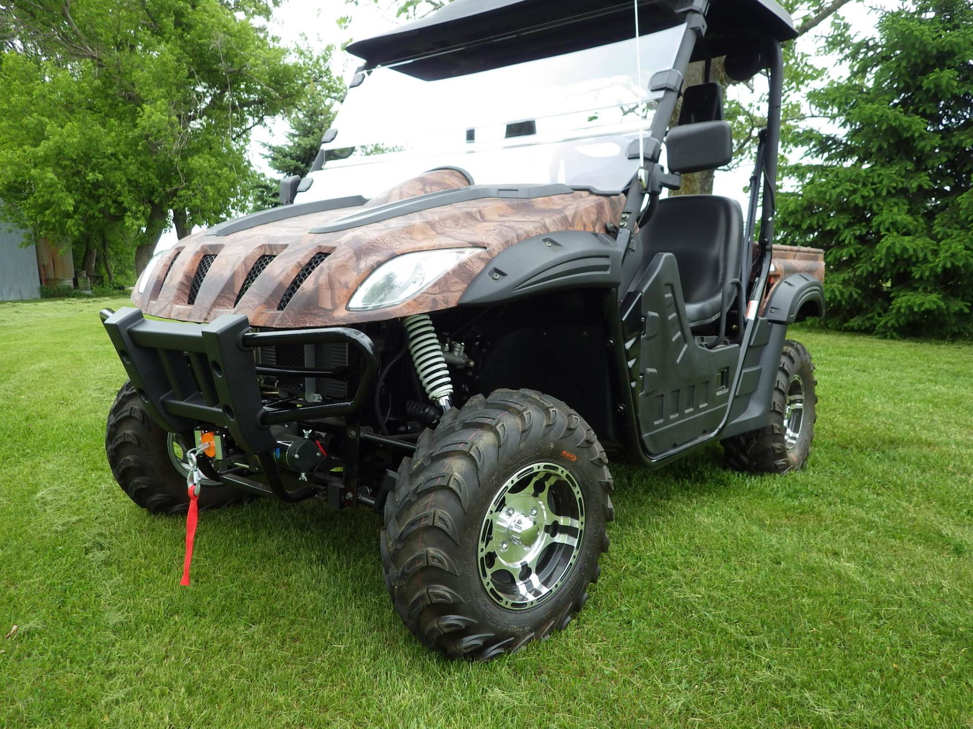 2016 BMS Ranch Pony 600 EFI in Howard Lake, Minnesota - Photo 11