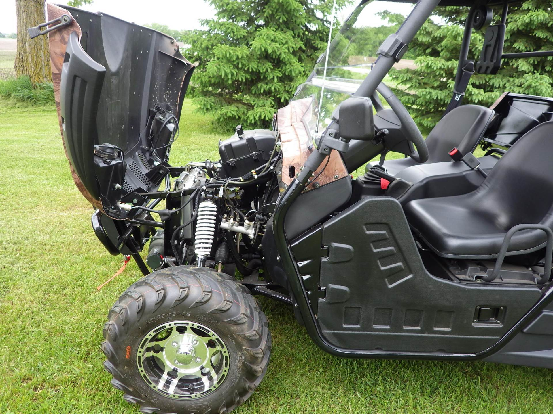 2016 BMS Ranch Pony 600 EFI in Howard Lake, Minnesota - Photo 17