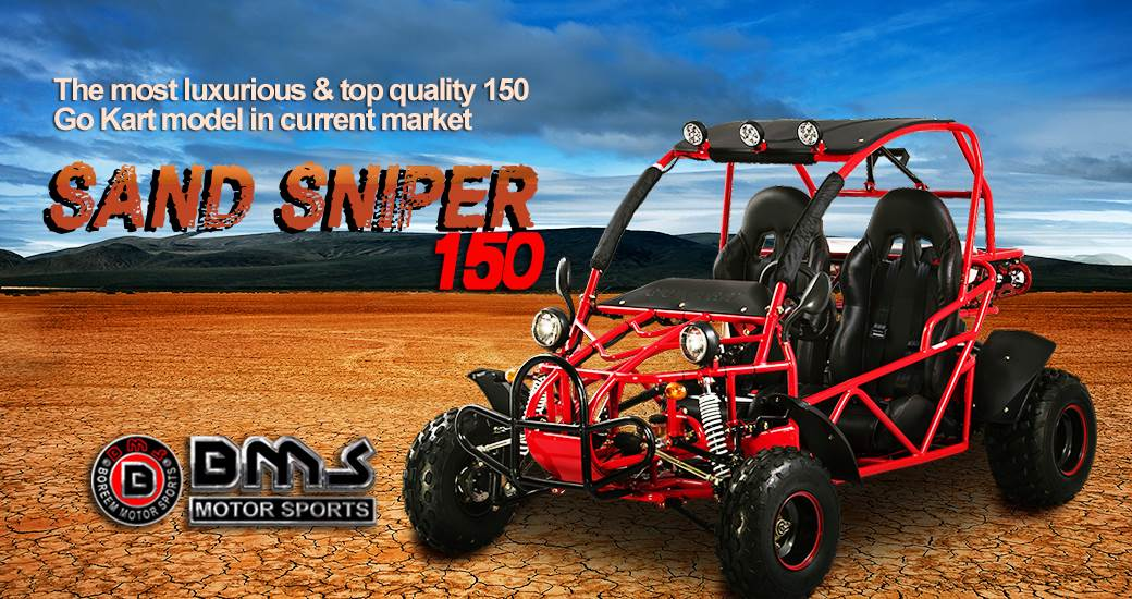 2017 BMS Sand Sniper 150 in Howard Lake, Minnesota