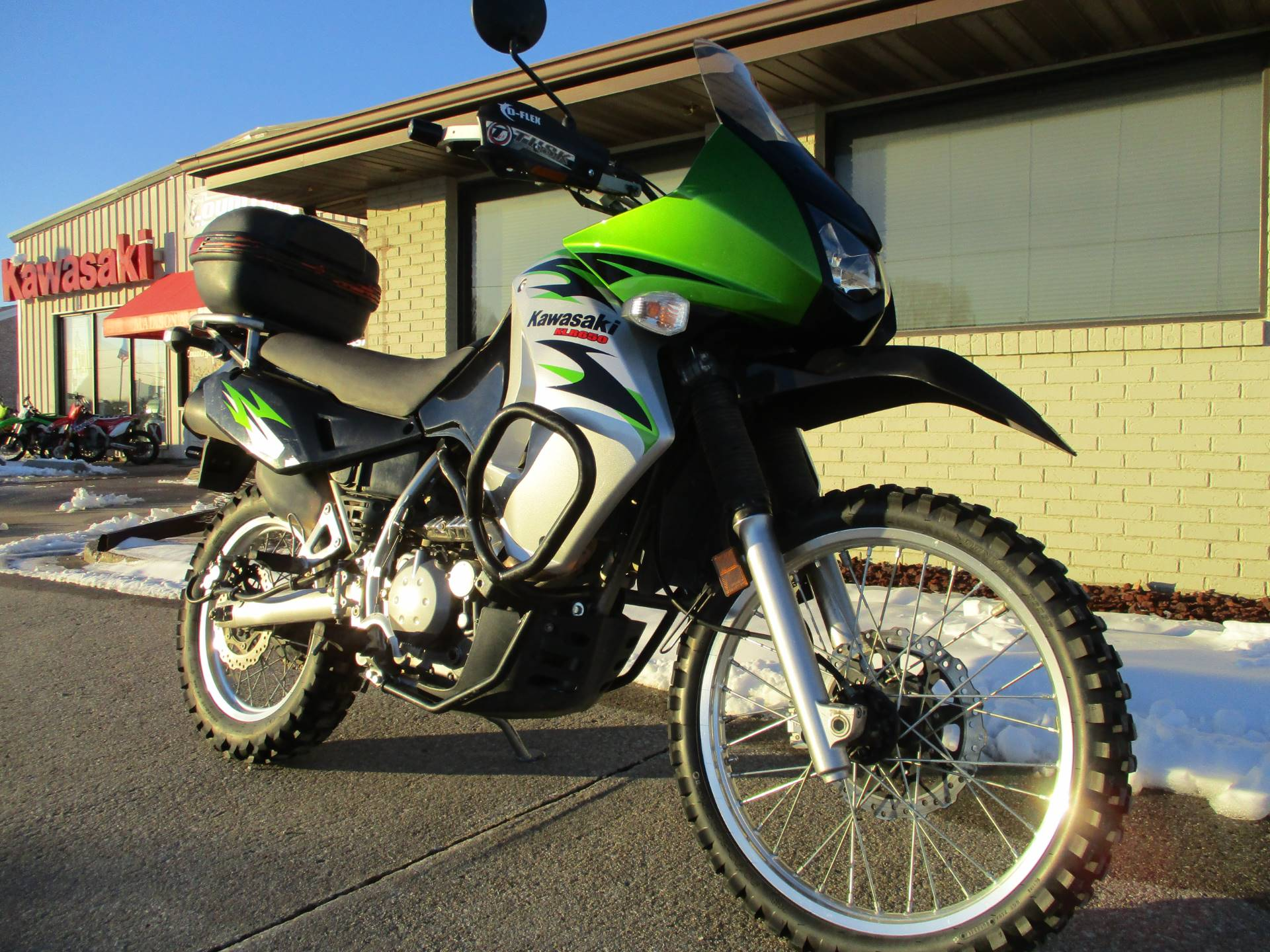 2008 Kawasaki KLR650 in Winterset, Iowa - Photo 3