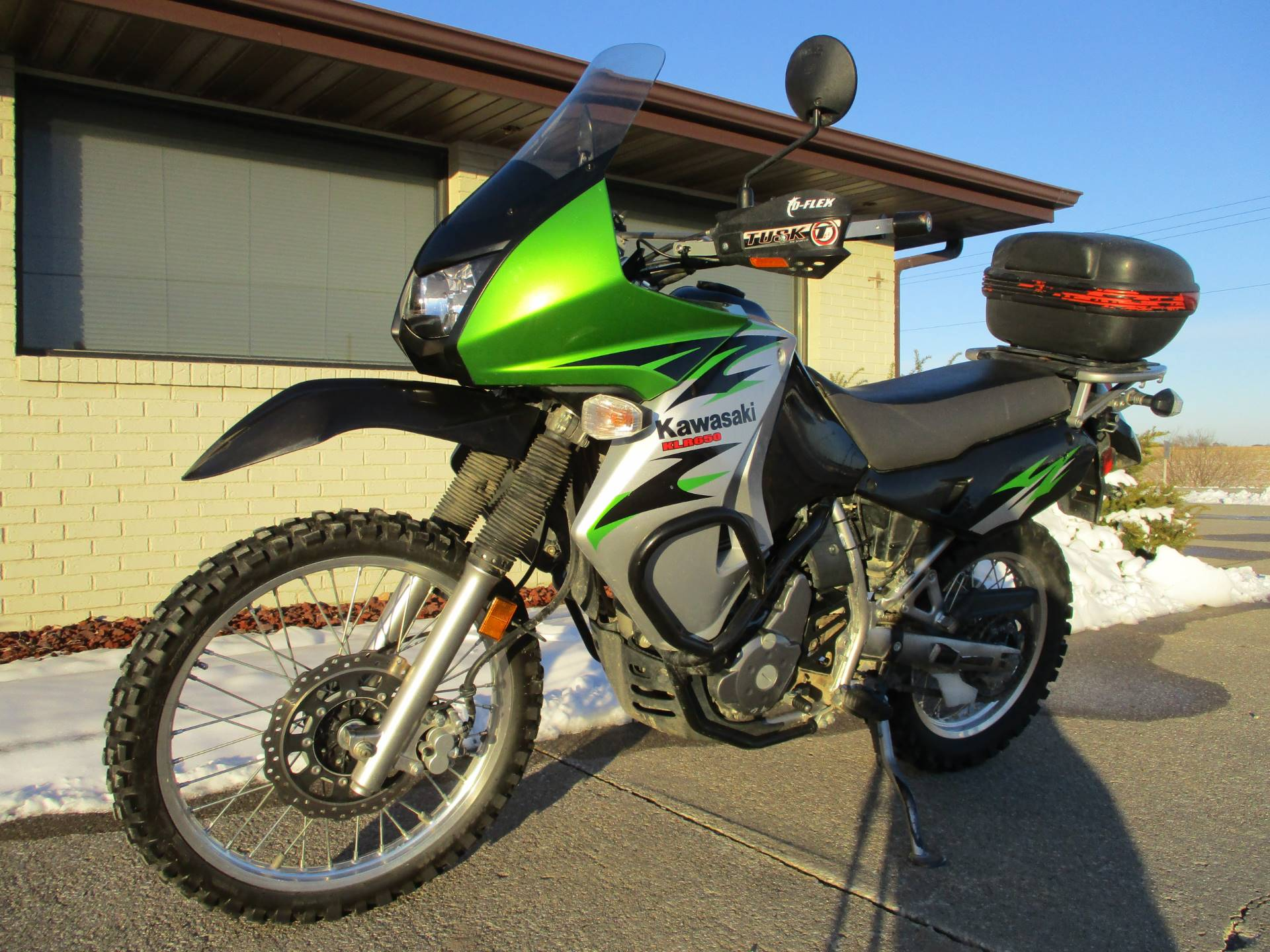 2008 Kawasaki KLR650 in Winterset, Iowa - Photo 4