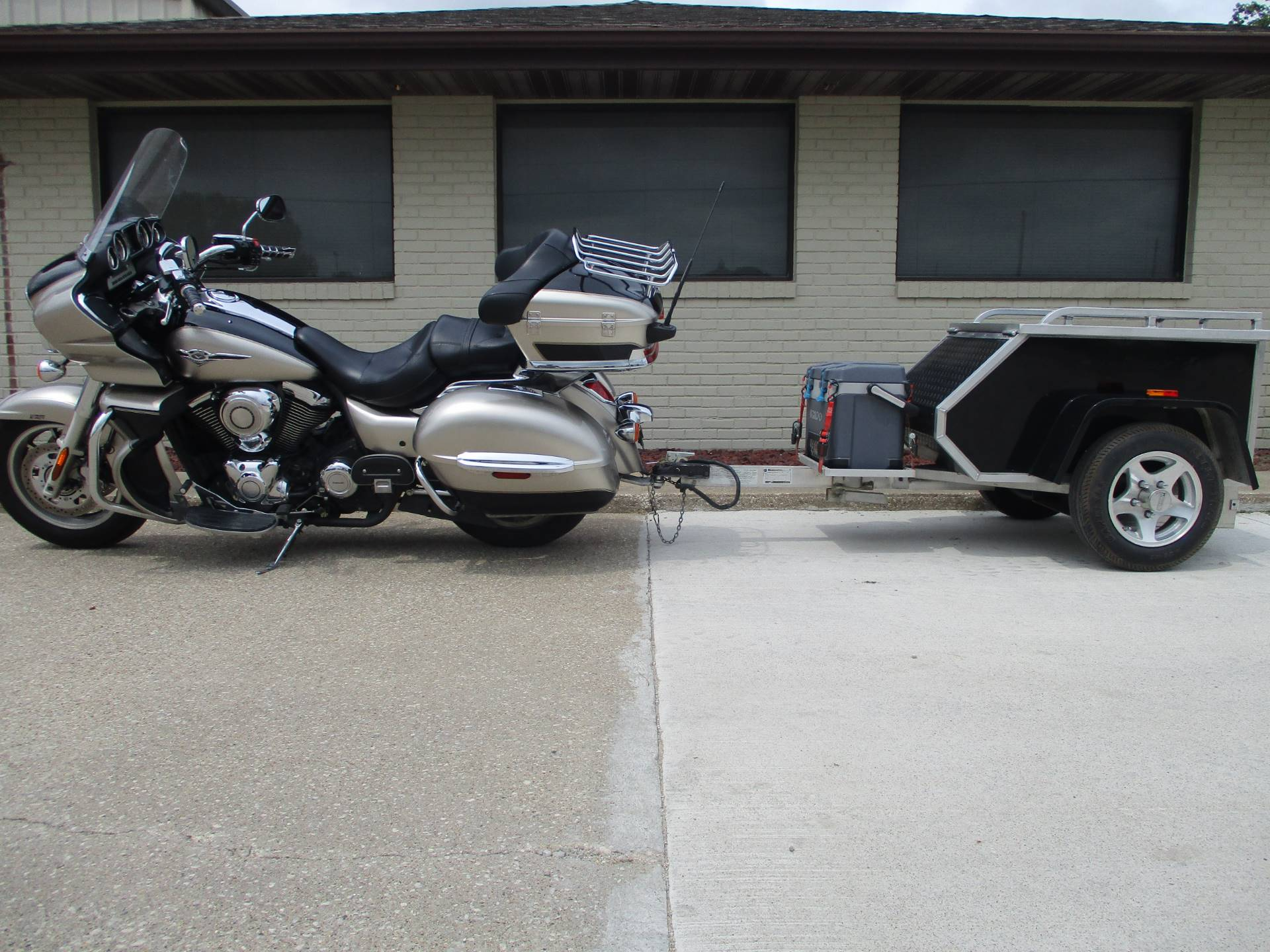 2009 Kawasaki Vulcan® 1700 Voyager® ABS in Winterset, Iowa - Photo 2