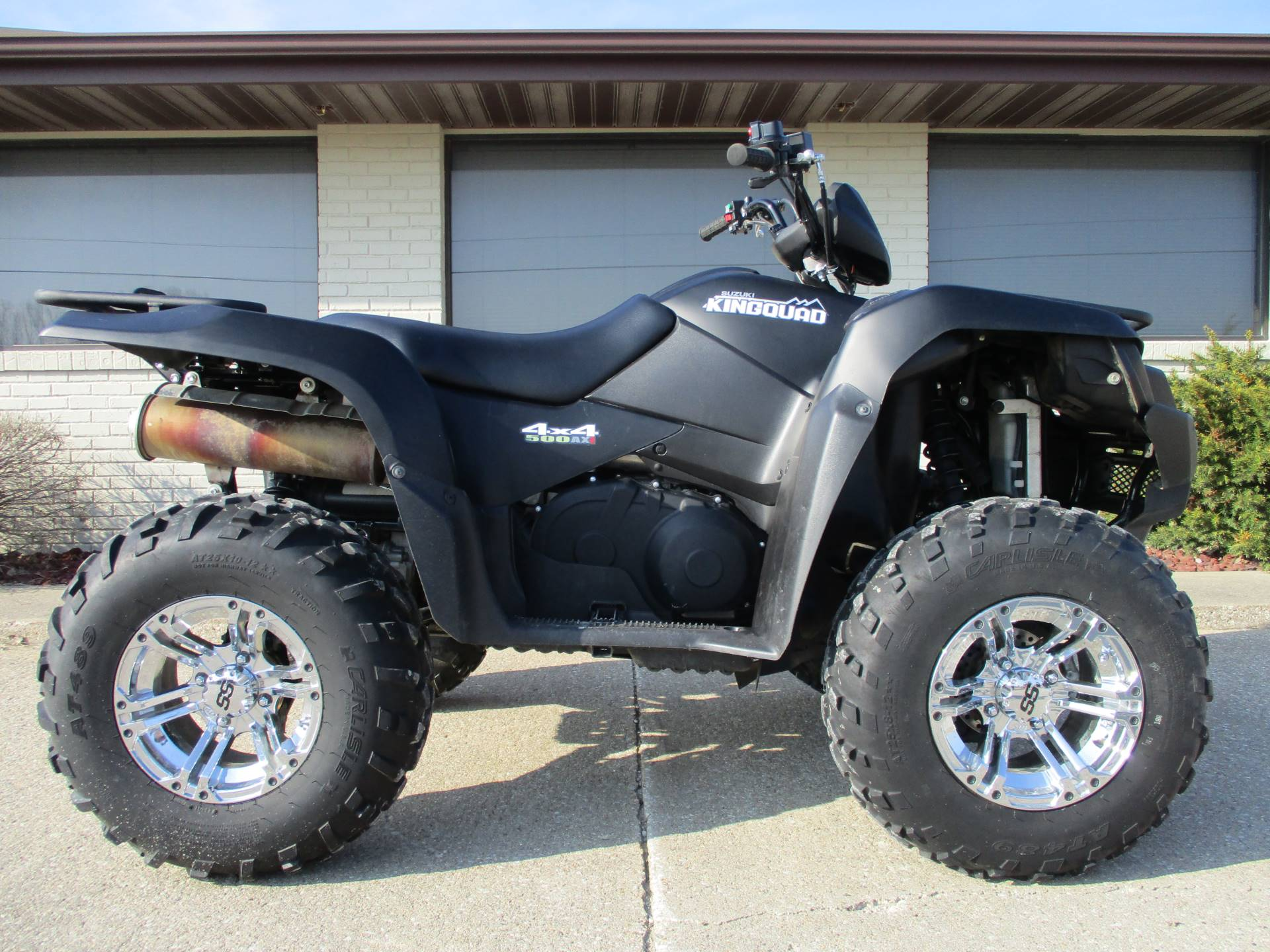 2017 Suzuki KingQuad 500AXi Power Steering Special Edition in Winterset, Iowa - Photo 1