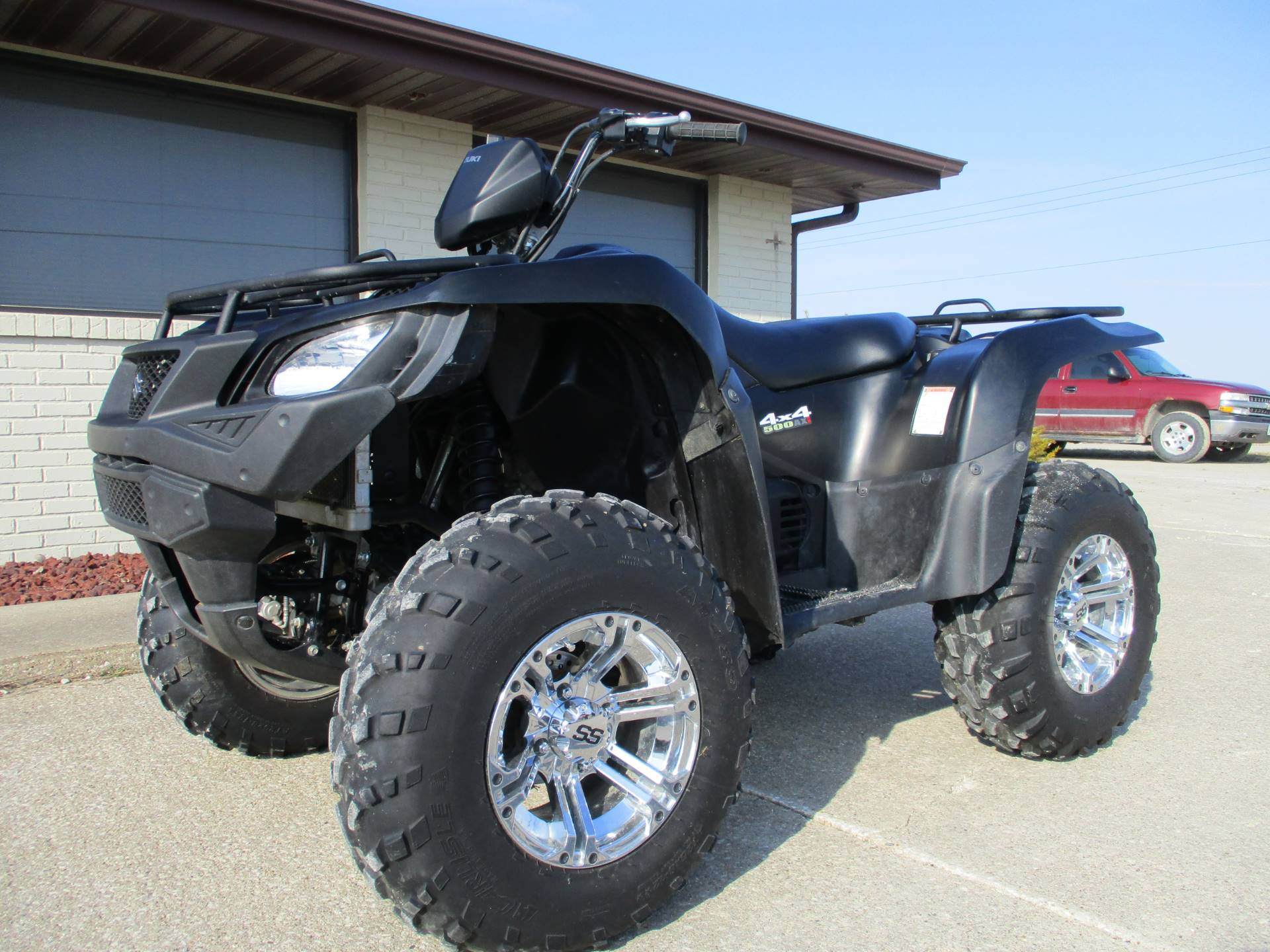2017 Suzuki KingQuad 500AXi Power Steering Special Edition in Winterset, Iowa - Photo 4