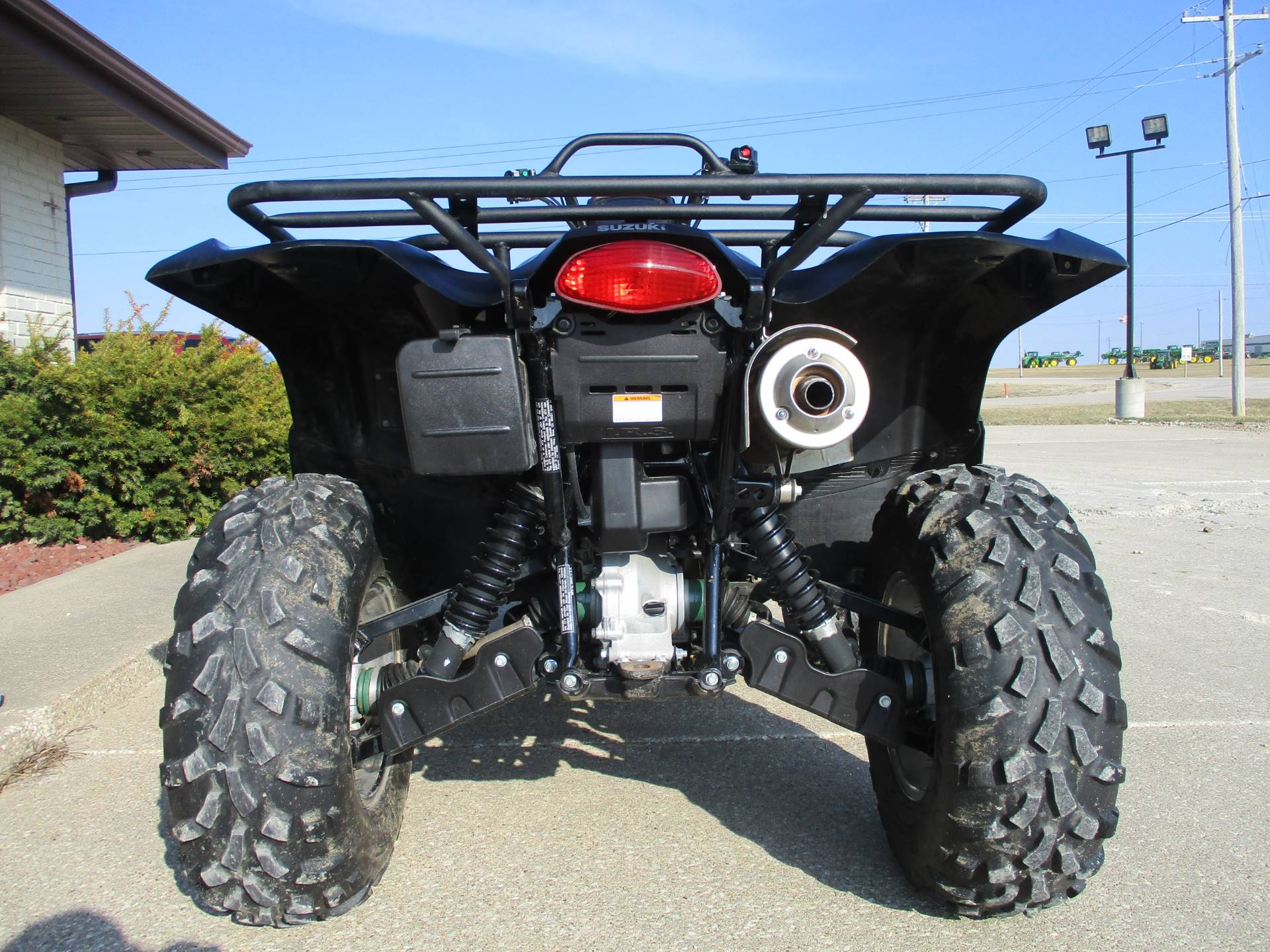 2017 Suzuki KingQuad 500AXi Power Steering Special Edition in Winterset, Iowa - Photo 8