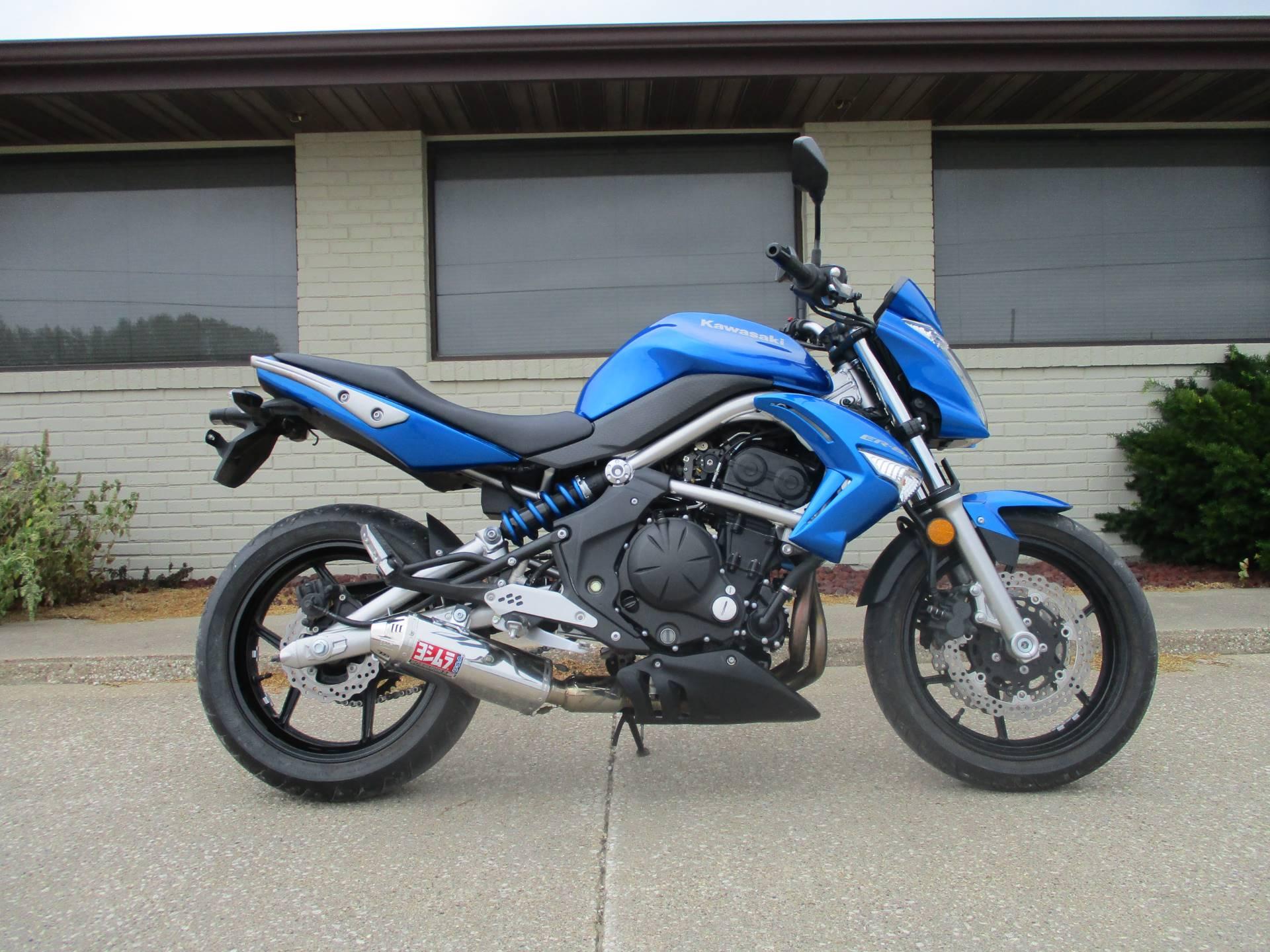 2009 Kawasaki Er 6n For Sale Winterset Ia 6034