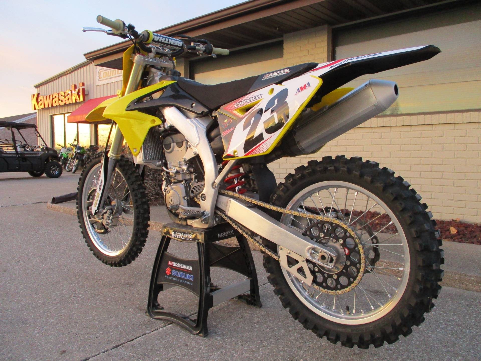 2015 Suzuki RM-Z450 in Winterset, Iowa - Photo 6