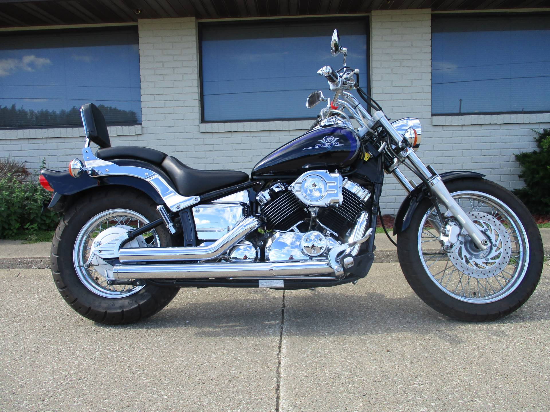used 2003 yamaha v star 650 motorcycles in winterset ia stock number ya13a057001. Black Bedroom Furniture Sets. Home Design Ideas