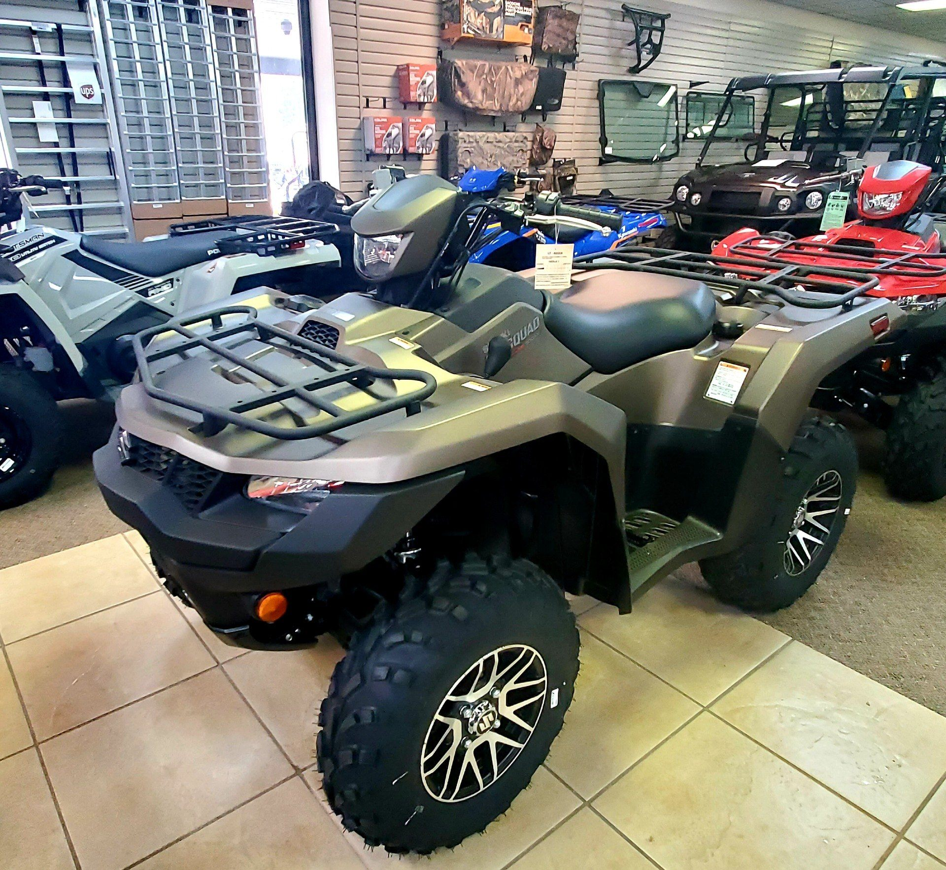 2019 Suzuki KingQuad 500AXi Power Steering SE+ in Jackson, Missouri - Photo 1