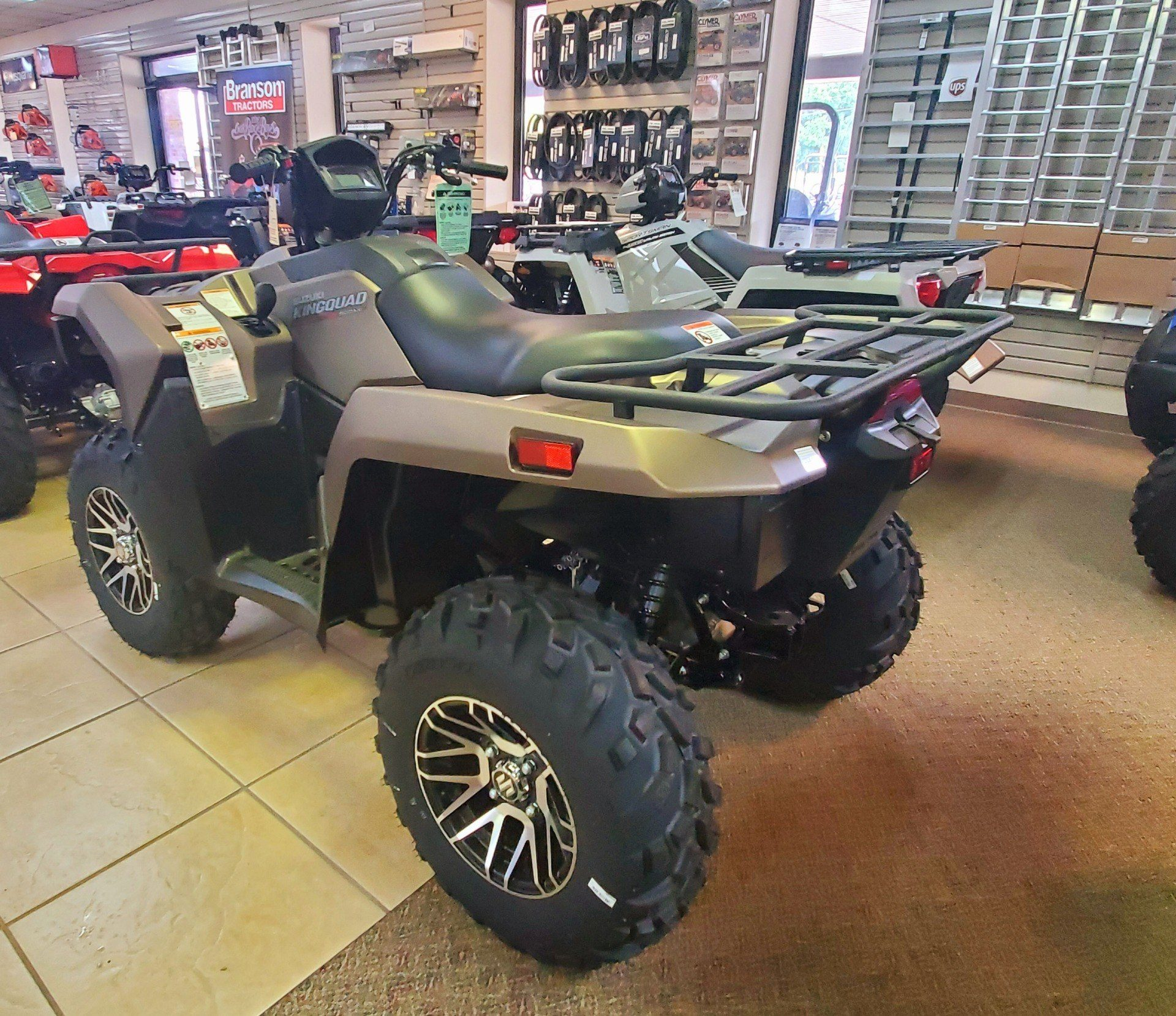 2019 Suzuki KingQuad 500AXi Power Steering SE+ in Jackson, Missouri - Photo 3
