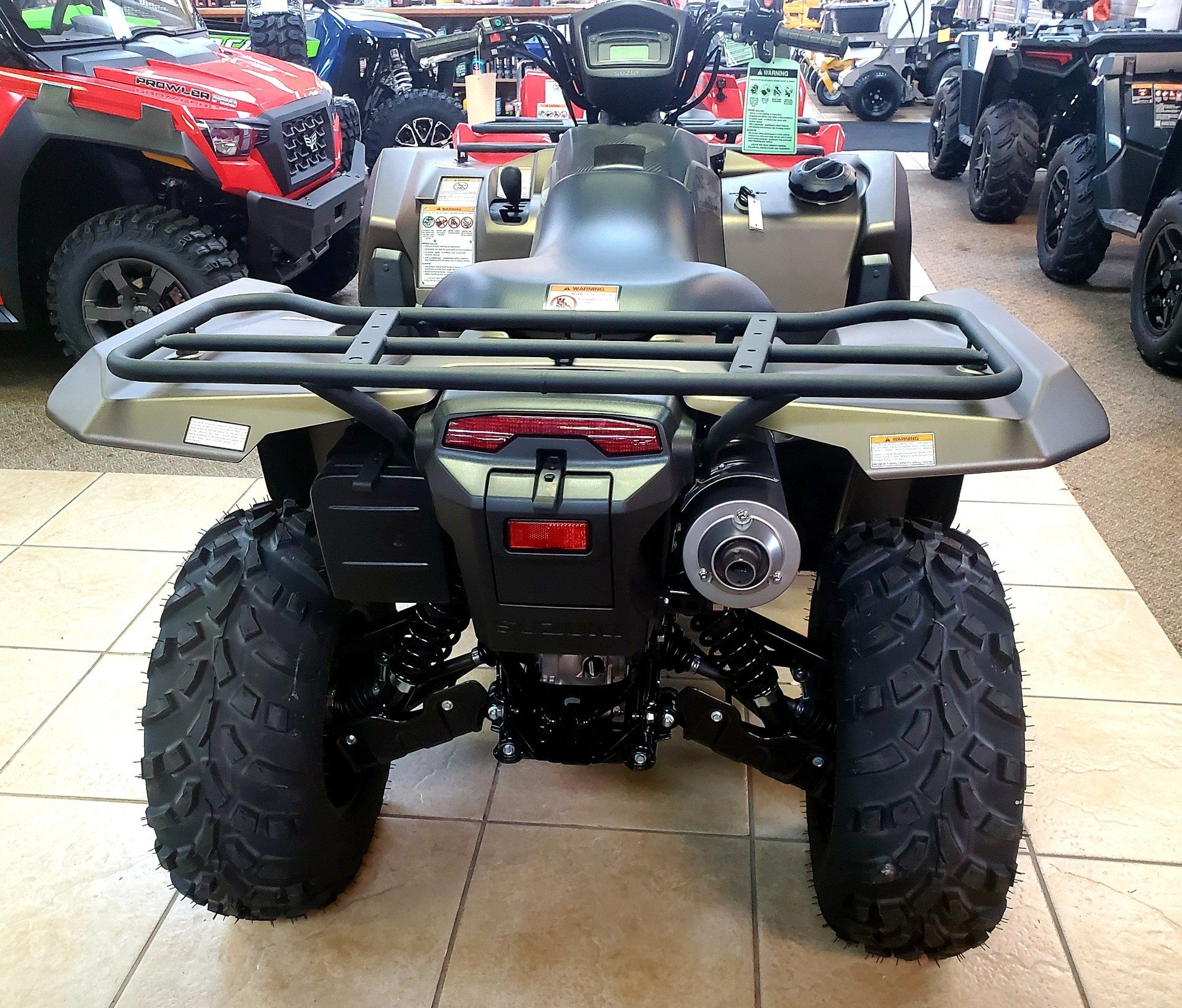2019 Suzuki KingQuad 500AXi Power Steering SE+ in Jackson, Missouri - Photo 7