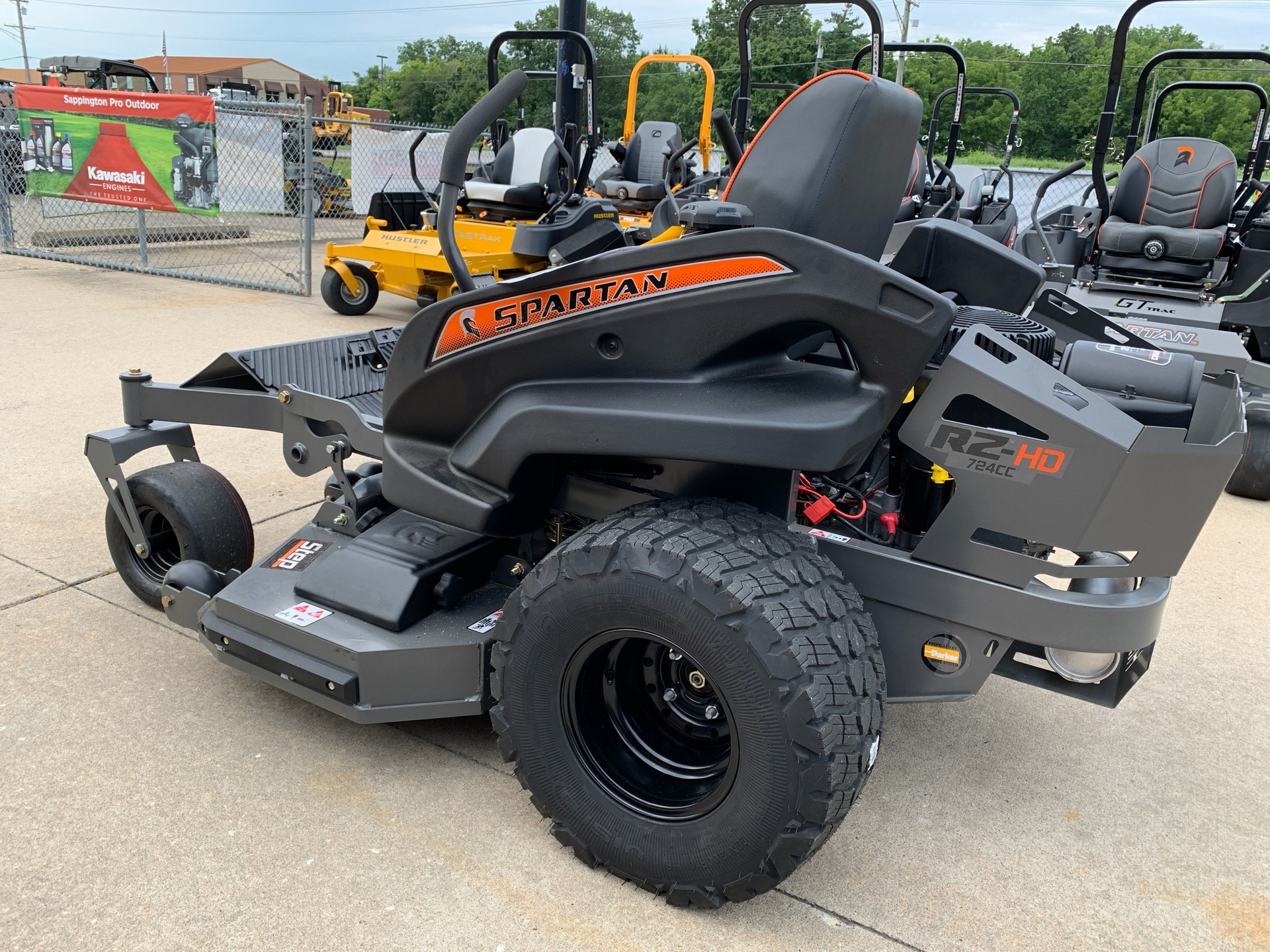 2019 Spartan Mowers RZ HD 54 in. Briggs & Stratton Commercial 25 hp in Jackson, Missouri - Photo 3