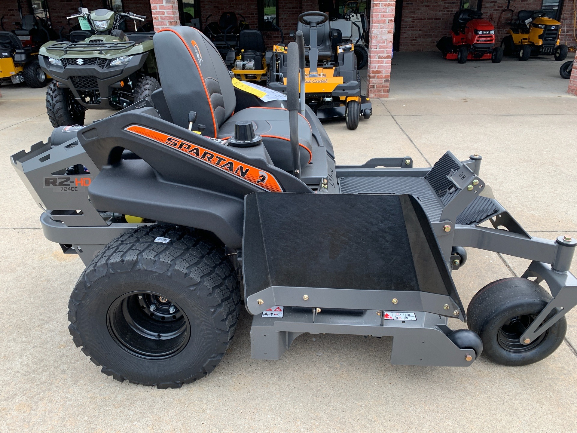 2019 Spartan Mowers RZ HD 54 in. Briggs & Stratton Commercial 25 hp in Jackson, Missouri - Photo 7