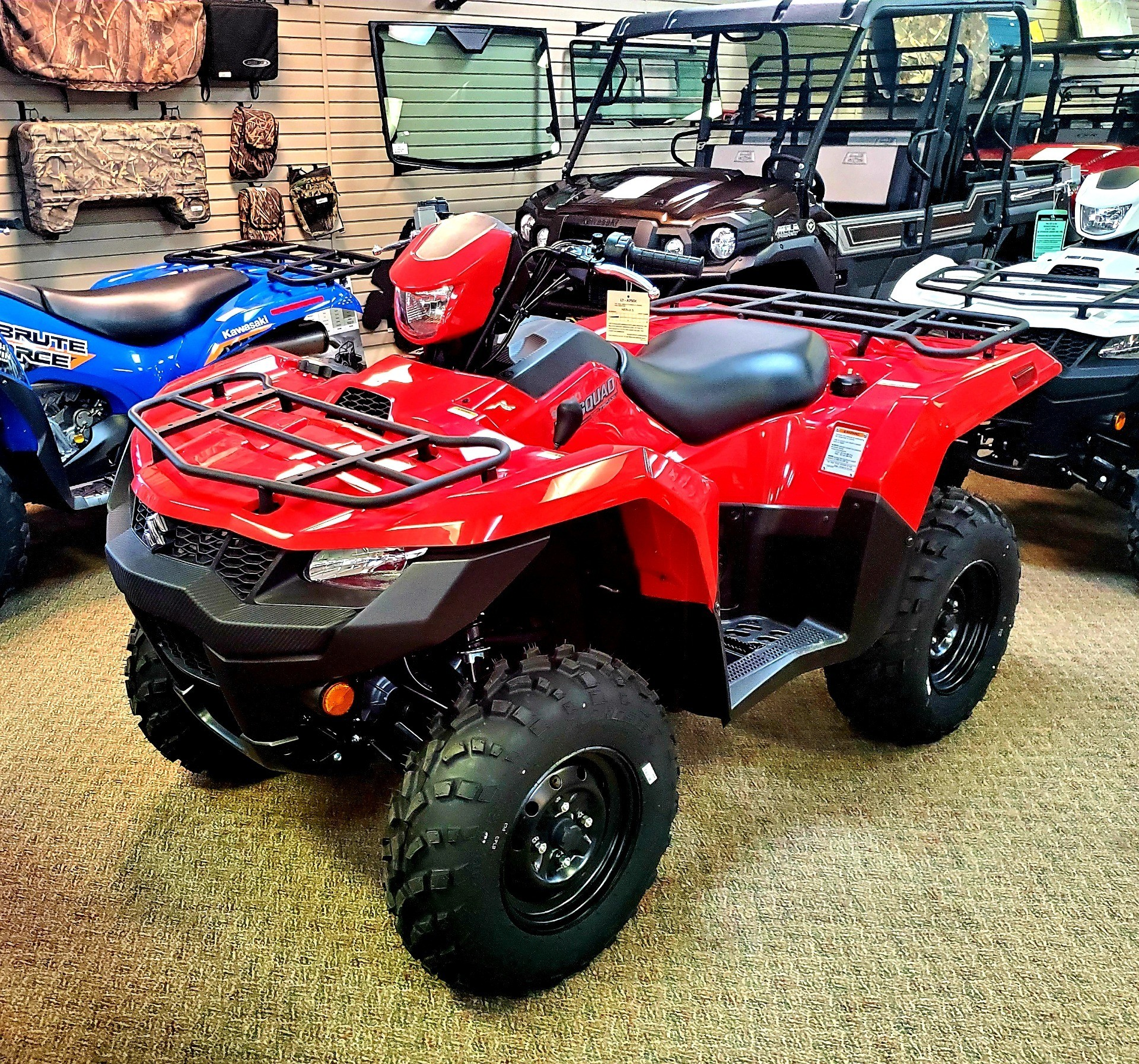 2020 Suzuki KingQuad 750AXi in Jackson, Missouri - Photo 1