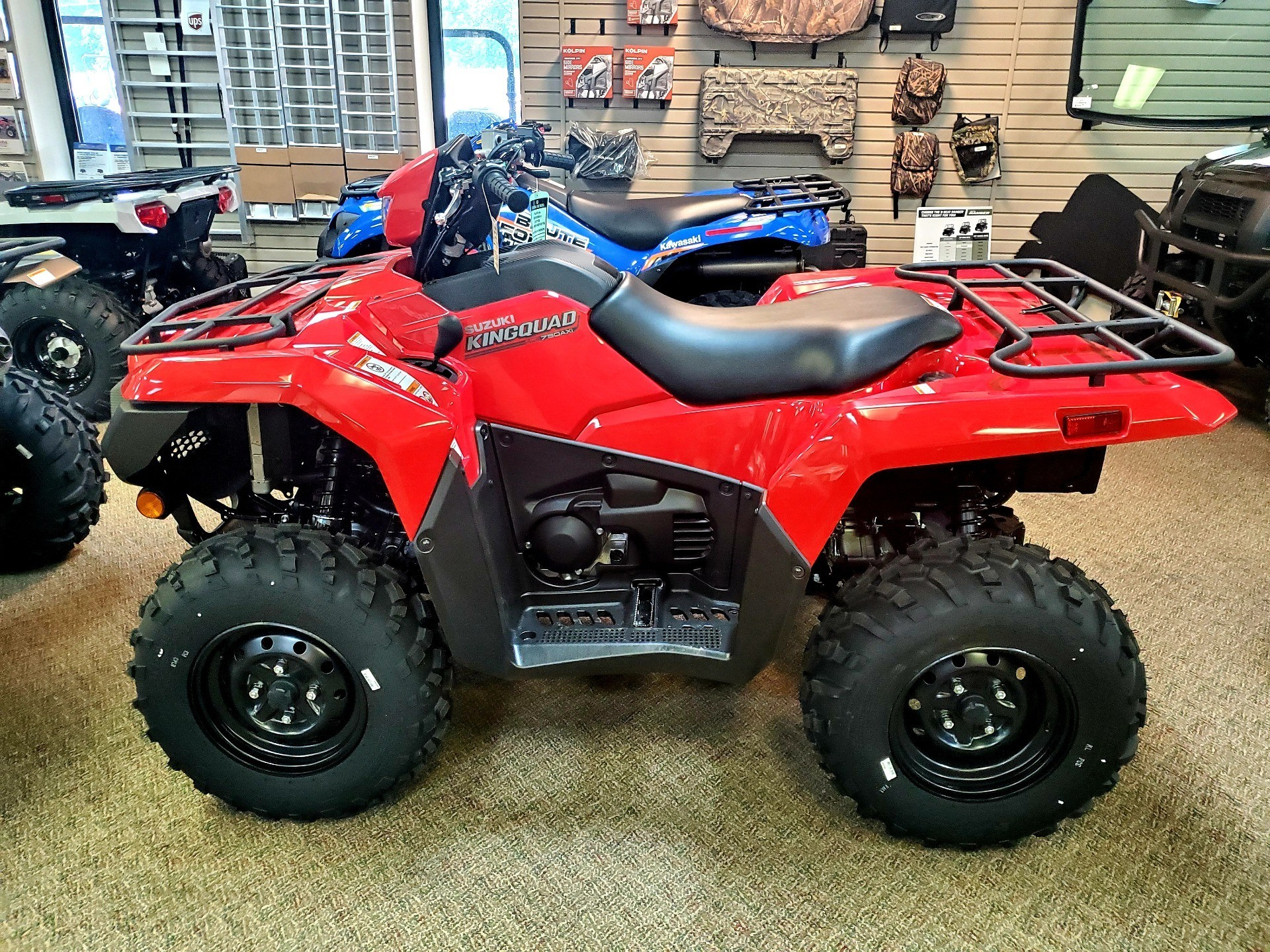 2020 Suzuki KingQuad 750AXi in Jackson, Missouri - Photo 2