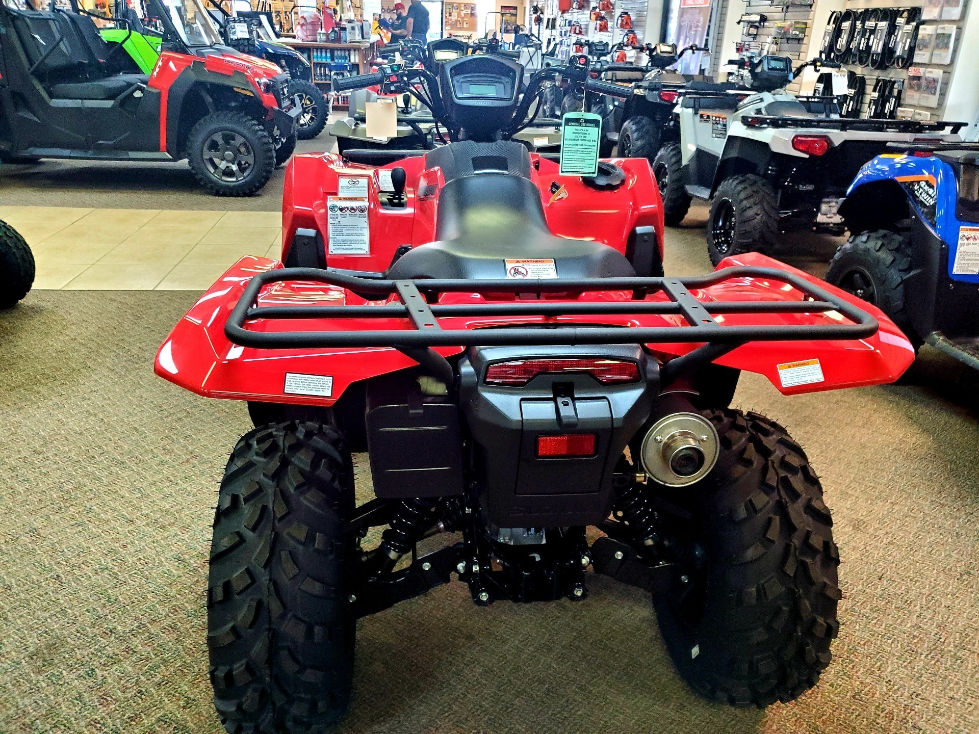 2020 Suzuki KingQuad 750AXi in Jackson, Missouri - Photo 4