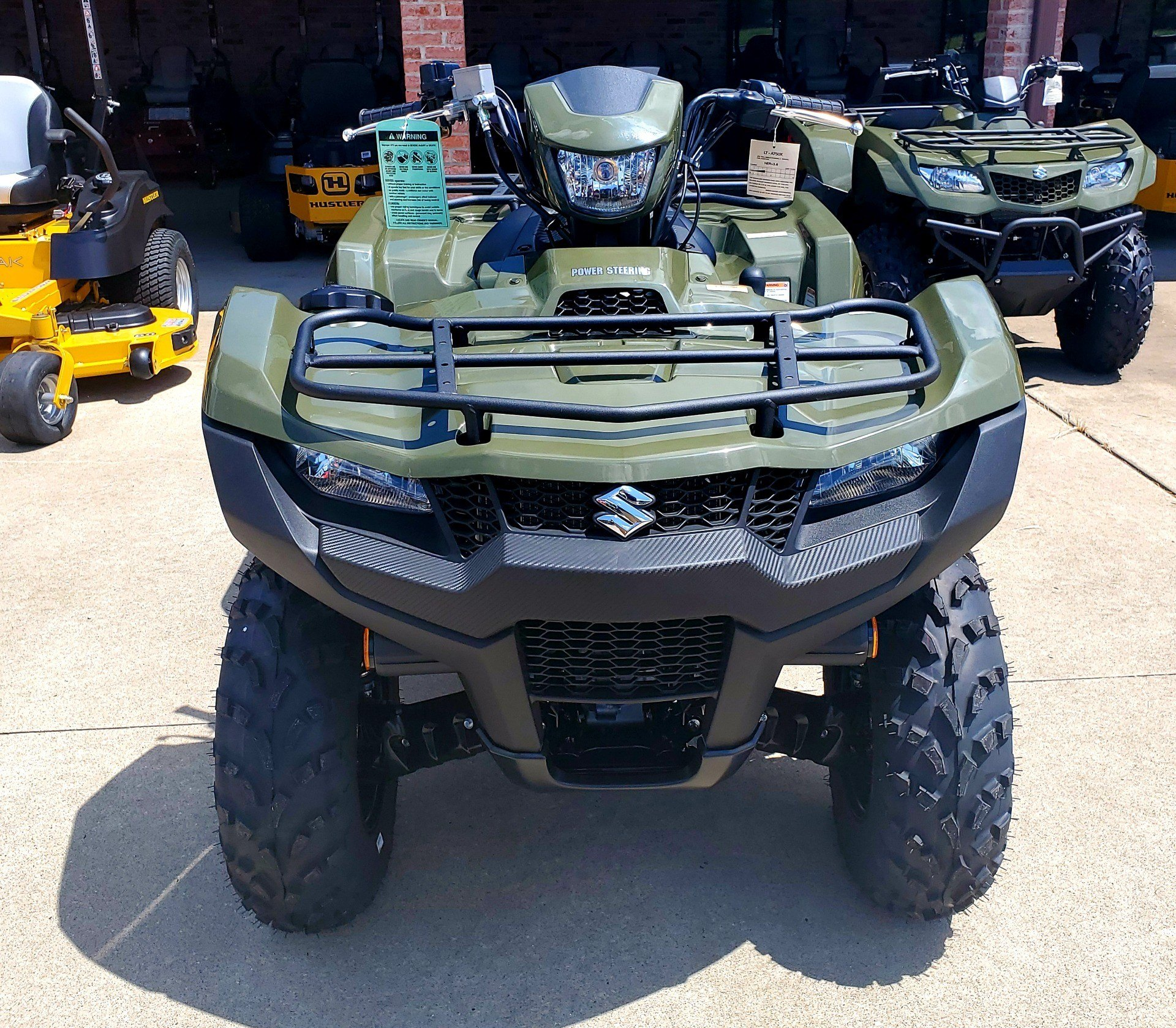 2020 Suzuki KingQuad 750AXi Power Steering in Jackson, Missouri - Photo 8