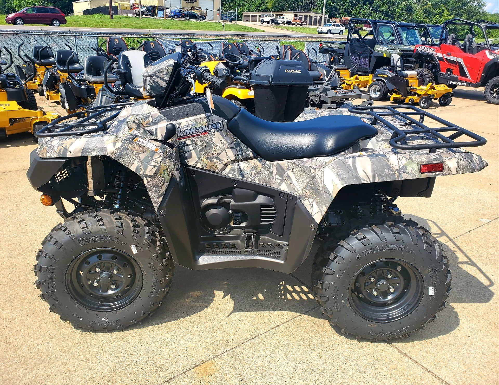 2019 Suzuki KingQuad 500AXi Power Steering Camo in Jackson, Missouri - Photo 2