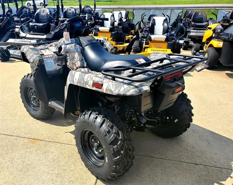 2019 Suzuki KingQuad 500AXi Power Steering Camo in Jackson, Missouri - Photo 3