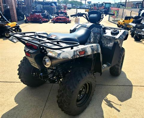 2019 Suzuki KingQuad 500AXi Power Steering Camo in Jackson, Missouri - Photo 5