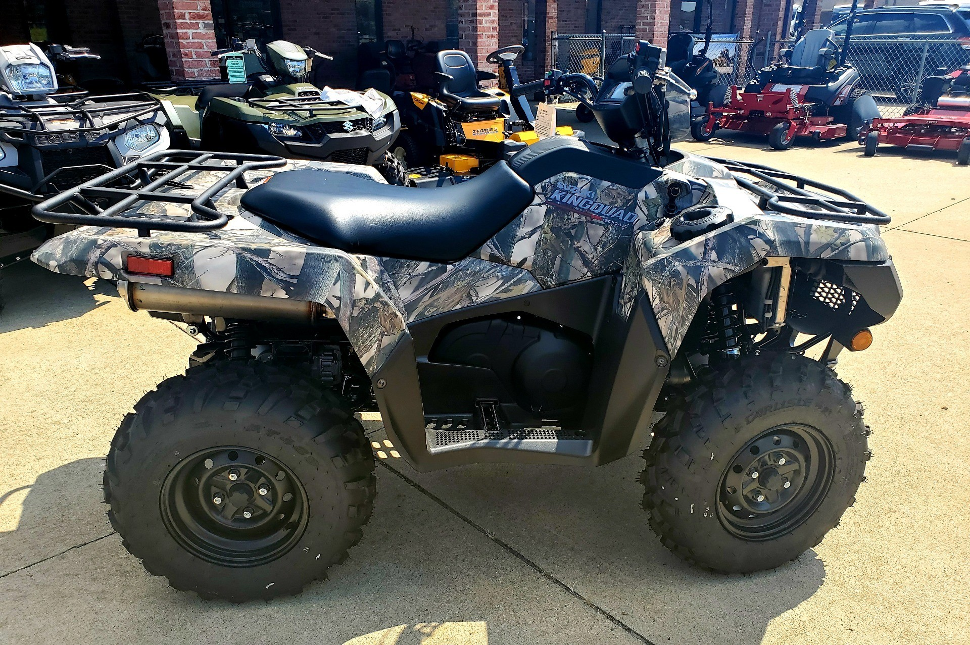 2019 Suzuki KingQuad 500AXi Power Steering Camo in Jackson, Missouri - Photo 6