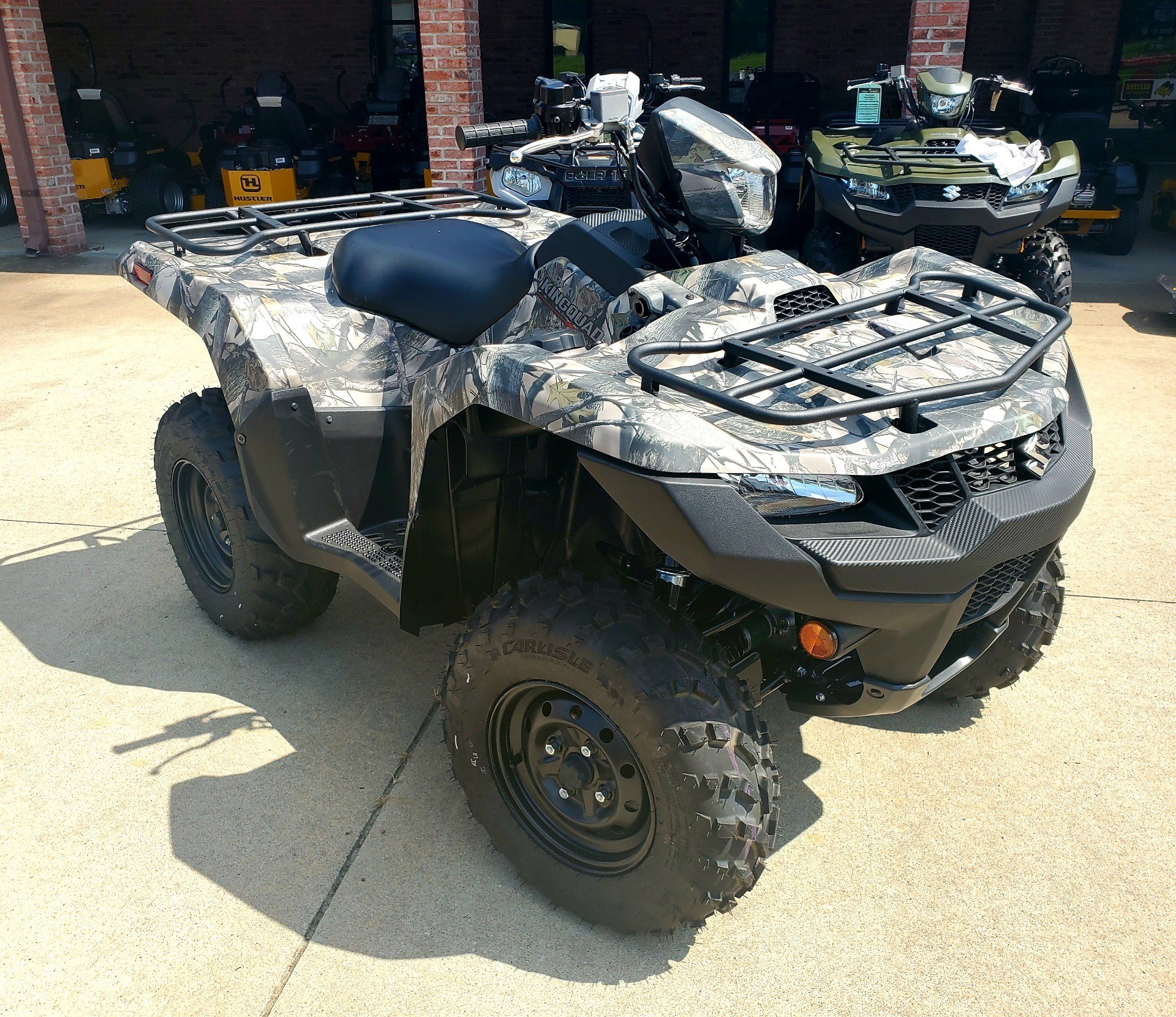 2019 Suzuki KingQuad 500AXi Power Steering Camo in Jackson, Missouri - Photo 7