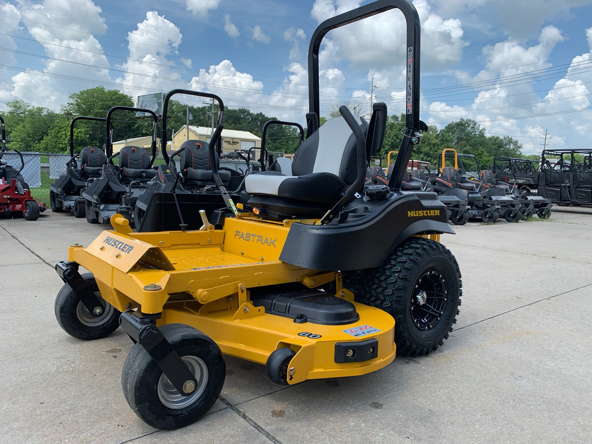 2019 Hustler Turf Equipment FasTrak 60 in. Kawasaki 24 hp in Jackson, Missouri - Photo 1