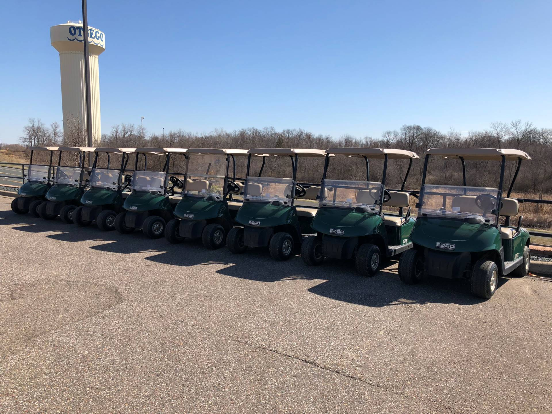 2010 E-Z-Go RXV Golf Carts Otsego Minnesota N/A on vise towers, plough towers, plastic storage towers,