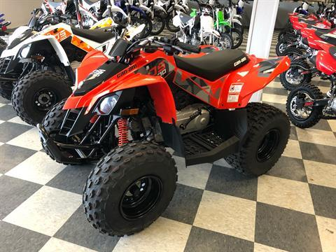 2021 Can-Am DS 70 in Leland, Mississippi - Photo 1