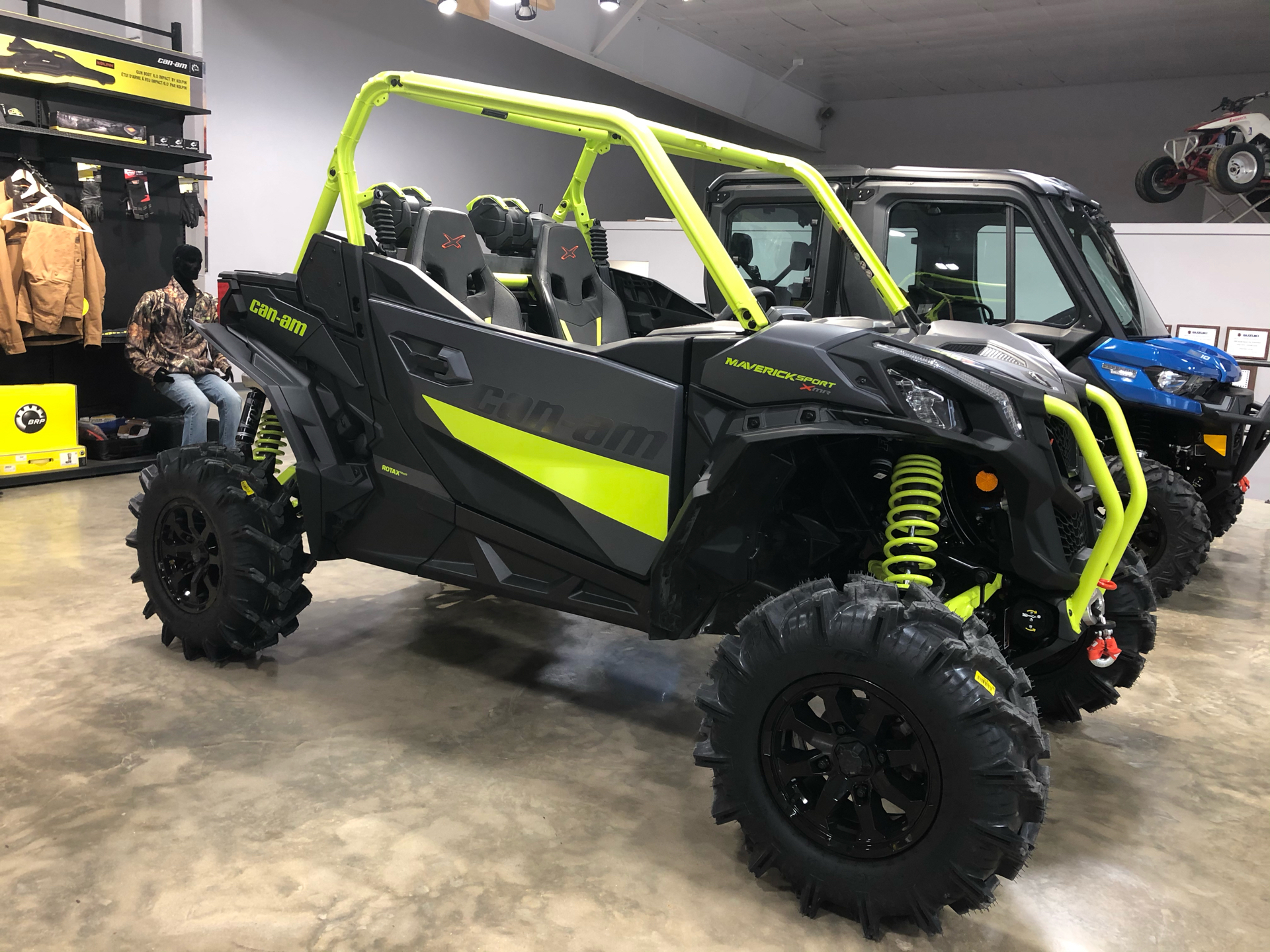 2021 Can-Am Maverick Sport X MR 1000R in Leland, Mississippi - Photo 2