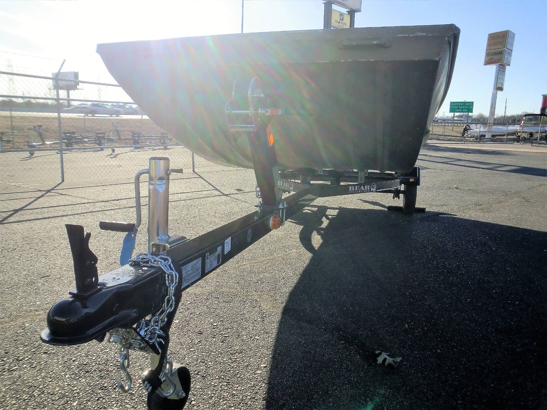 2017 Bear Trailer SJ 54-16 in Memphis, Tennessee
