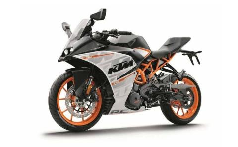 2016 KTM RC 390 ABS in Afton, Oklahoma