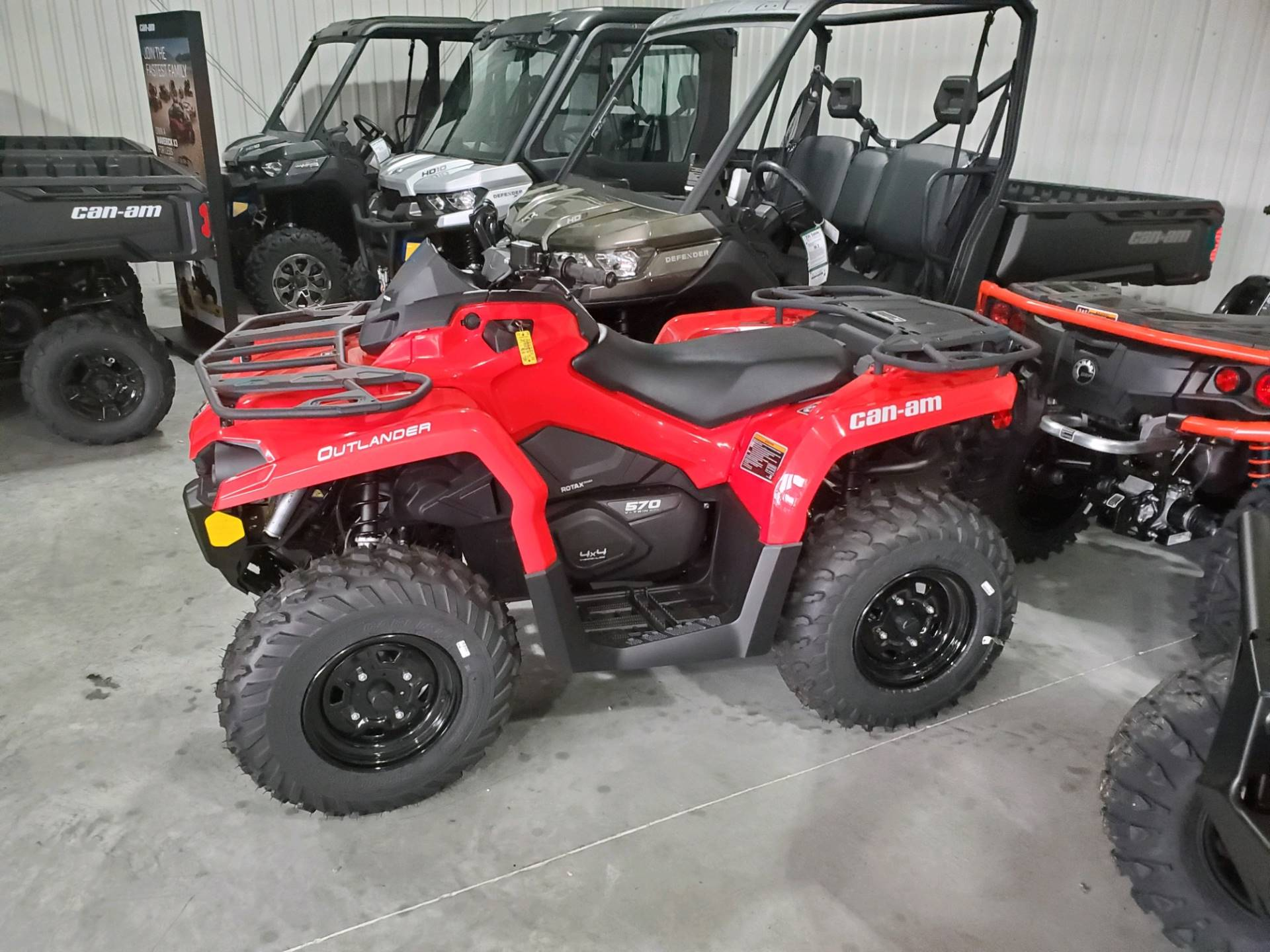 2020 Can-Am Outlander 570 in Afton, Oklahoma - Photo 4
