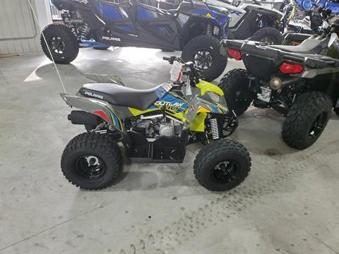 2020 Polaris Outlaw 110 in Afton, Oklahoma - Photo 1