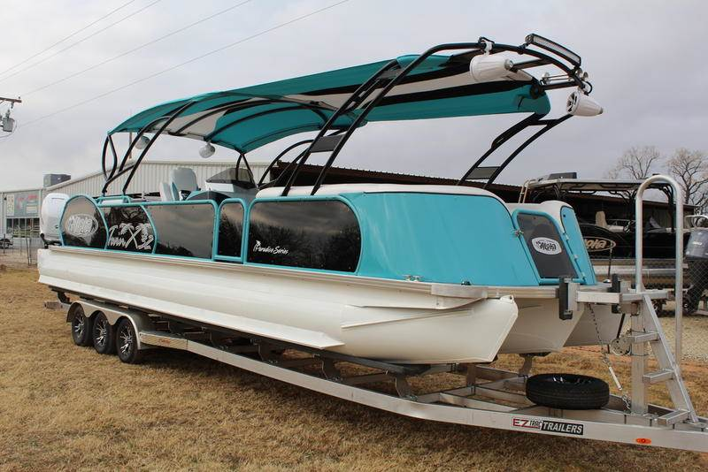 2019 Aloha Pontoons PS Twin X 32 in Afton, Oklahoma - Photo 2