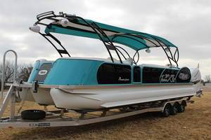 2019 Aloha Pontoons PS Twin X 32 in Afton, Oklahoma - Photo 3