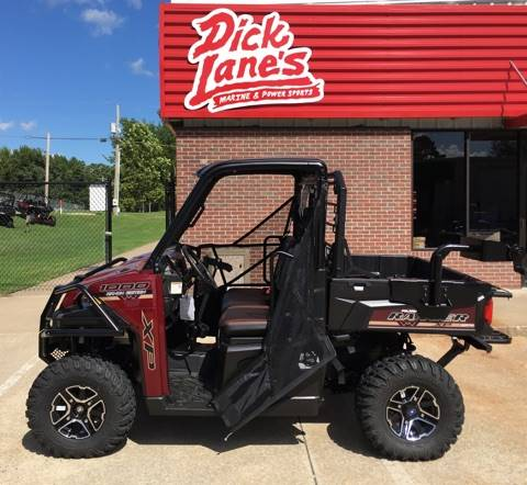 2017 Polaris Ranger XP 1000 EPS Ranch Edition in Afton, Oklahoma