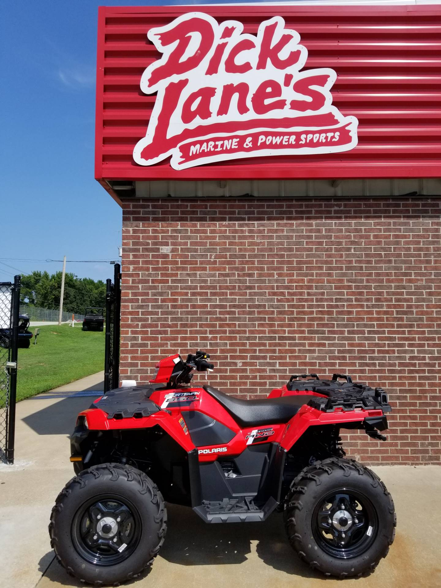2018 Polaris Sportsman 850 in Afton, Oklahoma