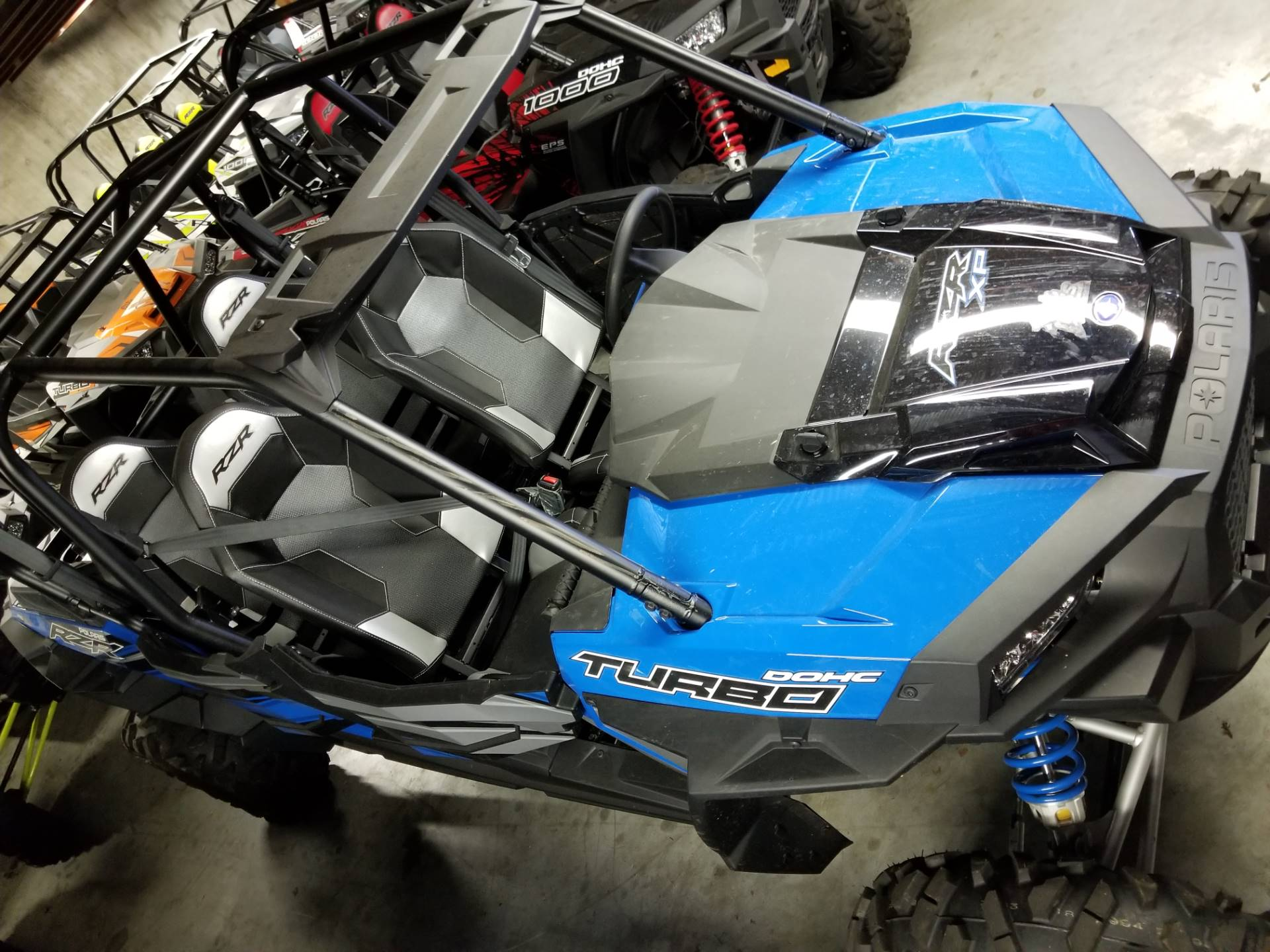 2018 Polaris RZR XP 4 Turbo EPS in Afton, Oklahoma