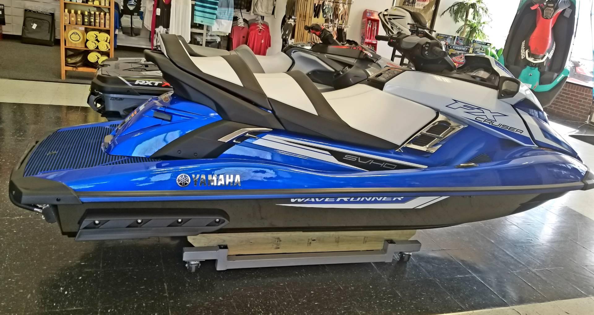 2018 Yamaha FX Cruiser SVHO for sale 118382