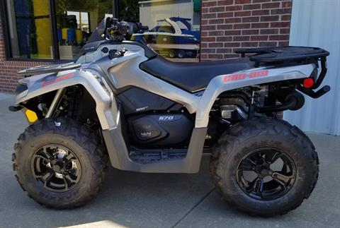 2017 Can-Am Outlander XT 570 in Afton, Oklahoma